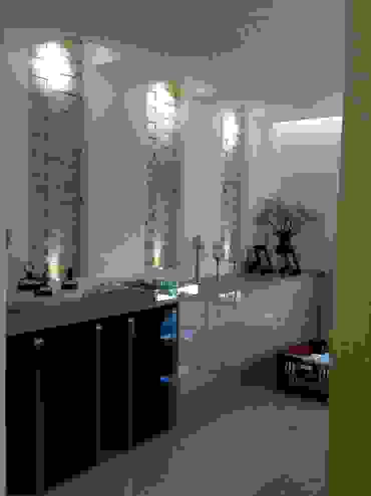 Apartamento Chácara Klabin Salas de jantar rústicas por TR3NA Arquitetura Rústico