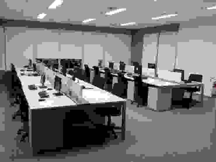 Modern office buildings by TR3NA Arquitetura Modern