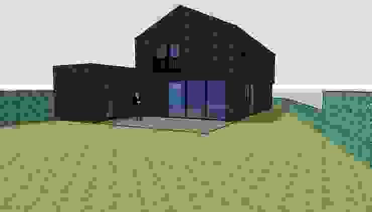 Impressie achterzijde van LAB_A architectuur