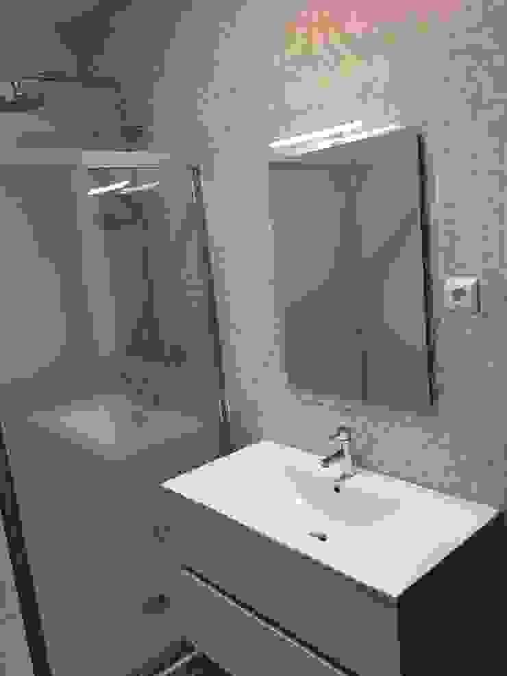 Obra Casa Branca Casas de banho modernas por Obras & Detalhes, Engenharia e Construção Moderno