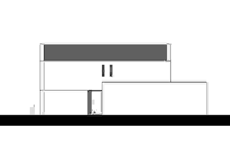 rechterzijgevel van LAB_A architectuur