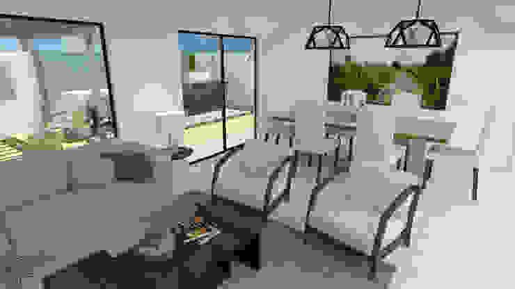 LG Modern Living Room by TAMEN arquitectura Modern