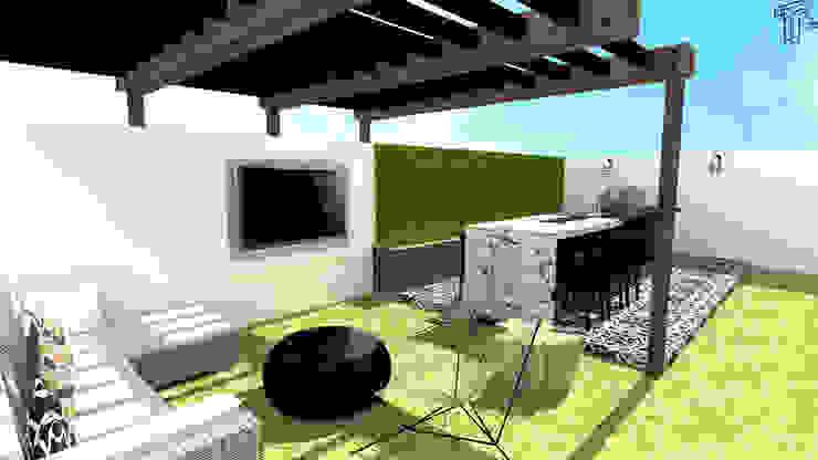 LG Modern Terrace by TAMEN arquitectura Modern