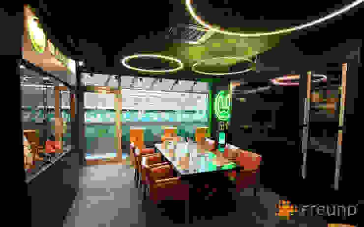 Freund GmbH Sala multimediaAccesorios y decoración Verde