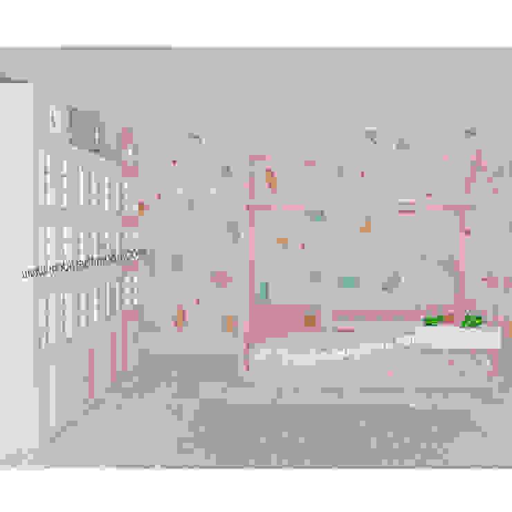 Ela'nın Odası, Özel Tasarım Bebek Çocuk Odası Modern Çocuk Odası MOBİLYADA MODA Modern Ahşap Ahşap rengi