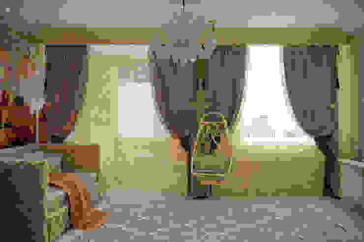 """Дизайн детской в классическом стиле в квартире в ЖК """"Ливанский дом"""", г.Краснодар Детская комнатa в классическом стиле от Студия интерьерного дизайна happy.design Классический"""