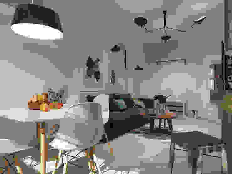 AlexLadanova interior design Living room