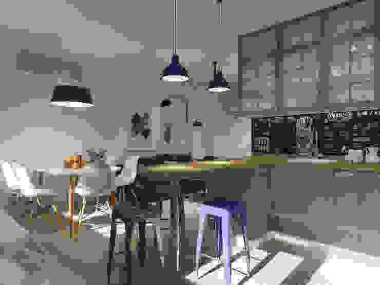 AlexLadanova interior design Kitchen