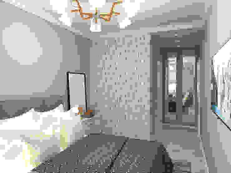 AlexLadanova interior design Scandinavian style bedroom