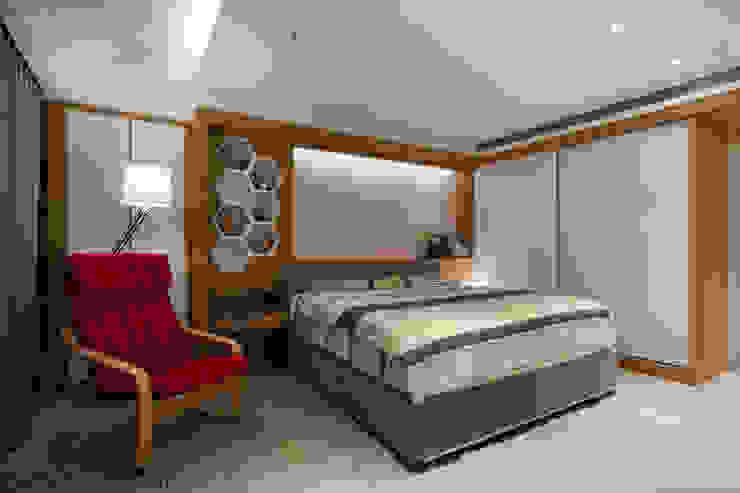 Dormitorios de estilo escandinavo de 藻雅室內設計 Escandinavo