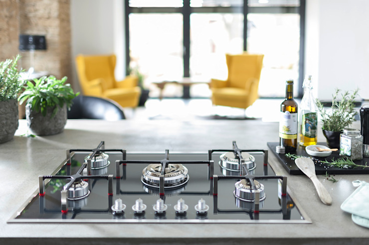 مطبخ تنفيذ Planungsgruppe Korb GmbH Architekten & Ingenieure, حداثي