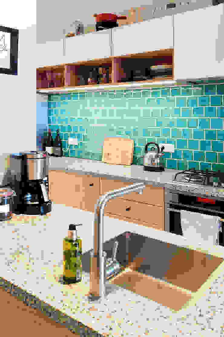 Amsteldijk Eclectische keukens van Kevin Veenhuizen Architects Eclectisch Tegels