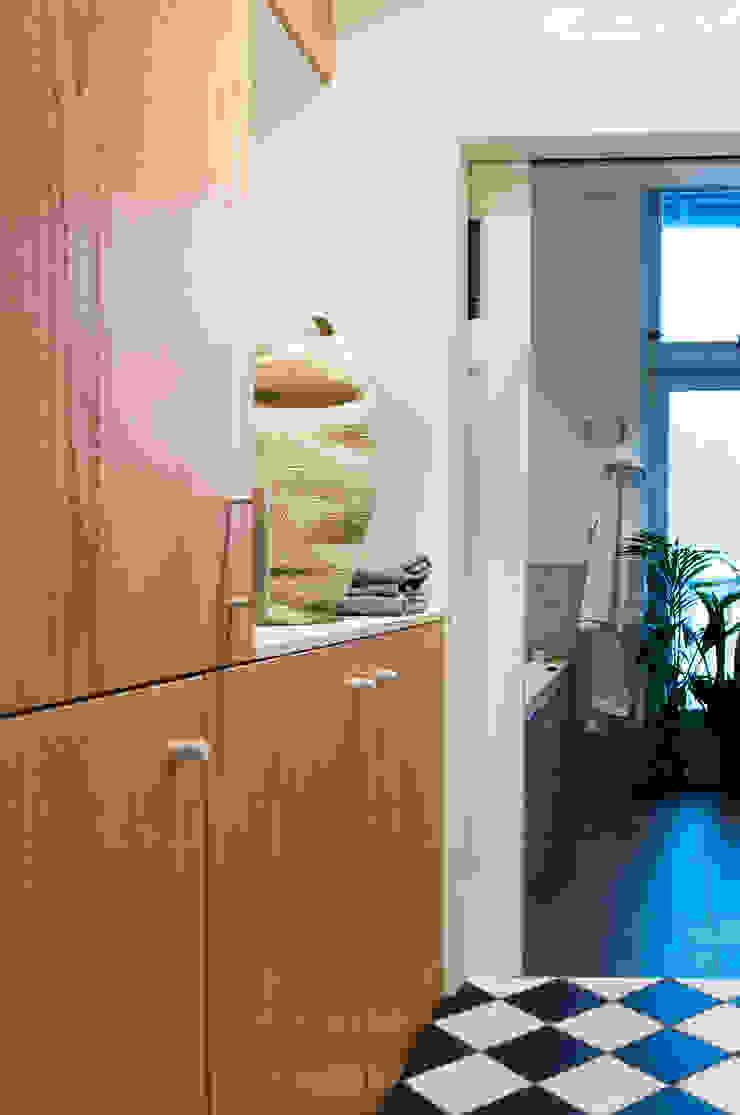 Amsteldijk Eclectische gangen, hallen & trappenhuizen van Kevin Veenhuizen Architects Eclectisch Hout Hout