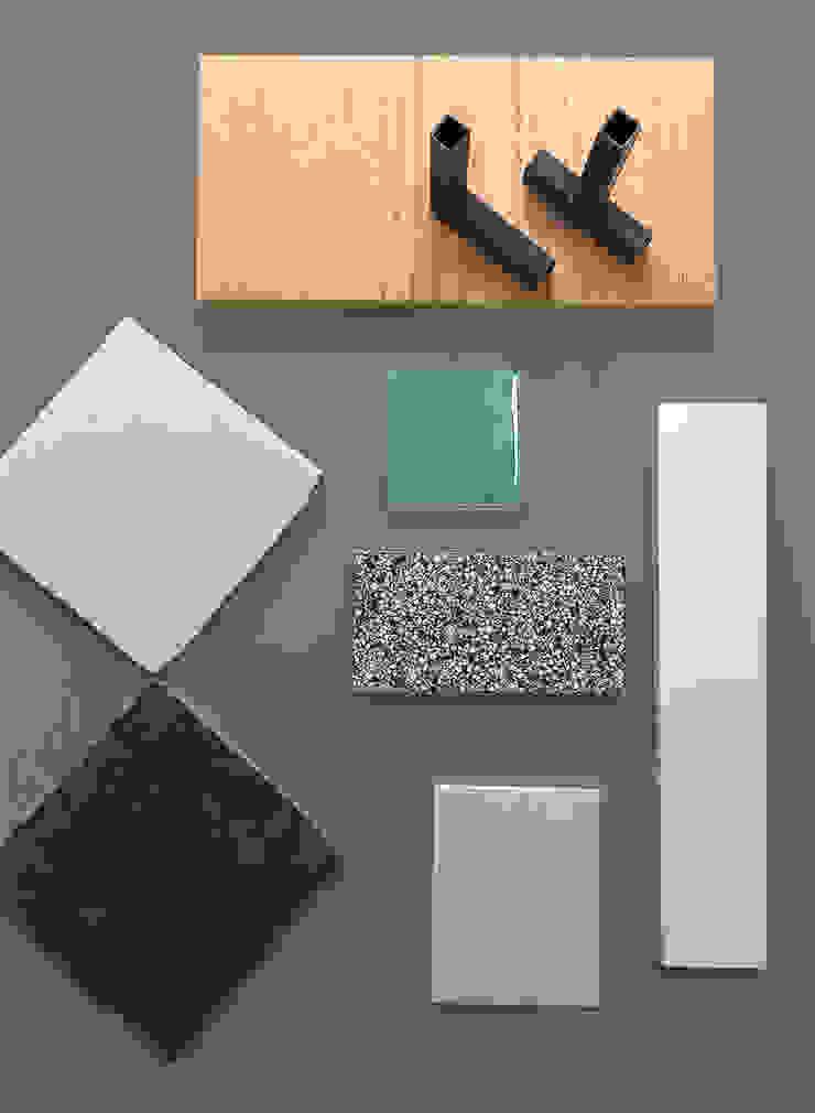 Material samples van Kevin Veenhuizen Architects