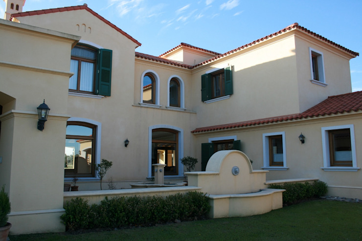 Casa en La Colina - Open Door - Pcia de Buenos Aires Casas clásicas de Rocha & Figueroa Bunge arquitectos Clásico