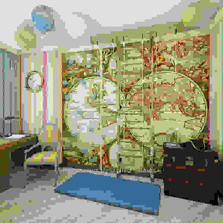 Детская комната Архитектурное Бюро 'Капитель' Детская комнатa в классическом стиле