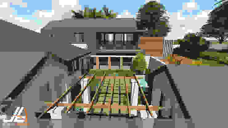 JLA - Jarrod Len Architecture モダンな 家