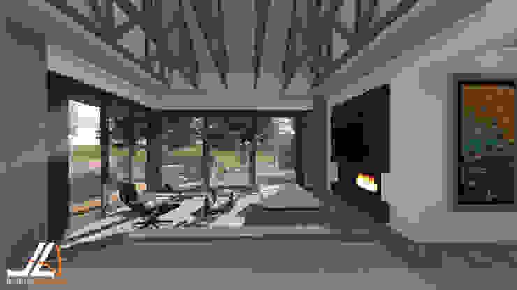 JLA - Jarrod Len Architecture Livings modernos: Ideas, imágenes y decoración