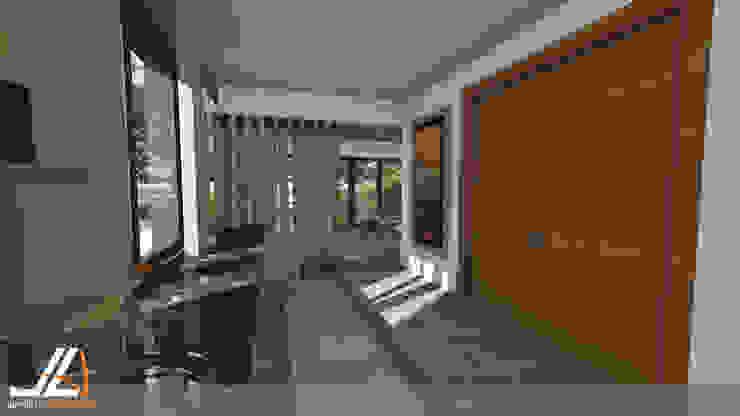 JLA - Jarrod Len Architecture Vestidores y placares modernos
