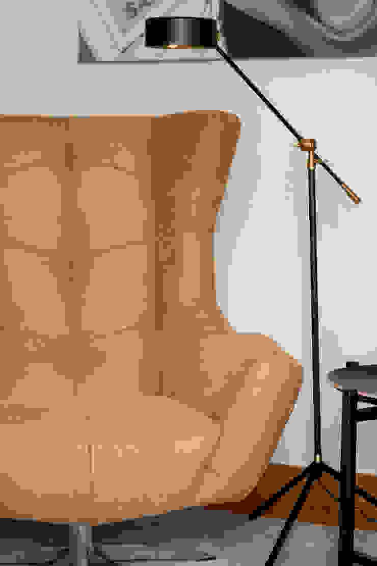 Sala Comum_Zona de leitura por Traço Magenta - Design de Interiores Moderno