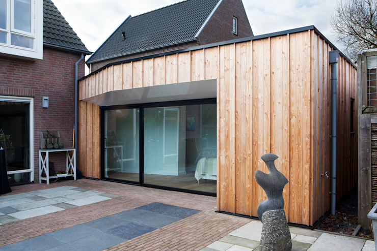 Houses by Kevin Veenhuizen Architects, Modern Wood Wood effect