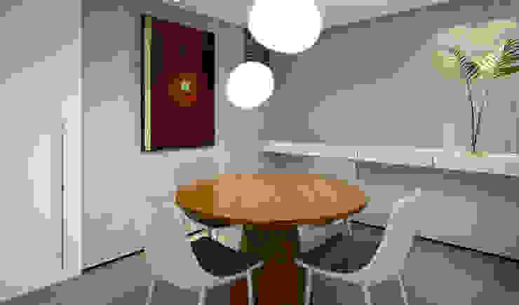 RAFE Arquitetura e Design Kitchen Concrete Grey