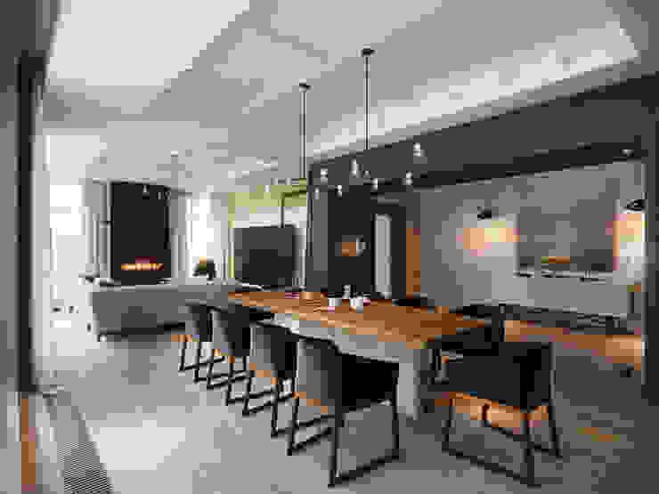 Резиденция в посёлке Репино, 450 кв. м.:  в . Автор – FullHouseDesign,