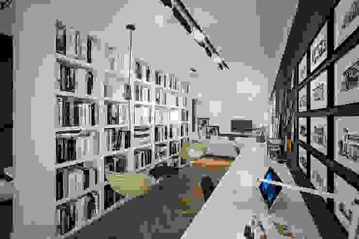 Phòng học/văn phòng phong cách hiện đại bởi Tasarımca Desıgn Offıce Hiện đại