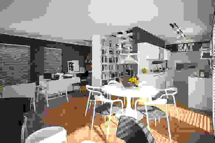 D HOUSE Modern Yemek Odası Tasarımca Desıgn Offıce Modern