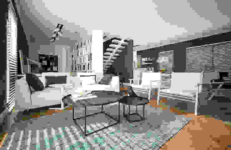 D HOUSE Modern Oturma Odası Tasarımca Desıgn Offıce Modern