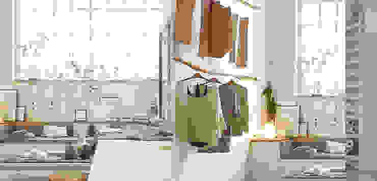 GN İÇ MİMARLIK OFİSİ – Nişantaşı Moda Atölyesi: modern tarz , Modern Ahşap Ahşap rengi