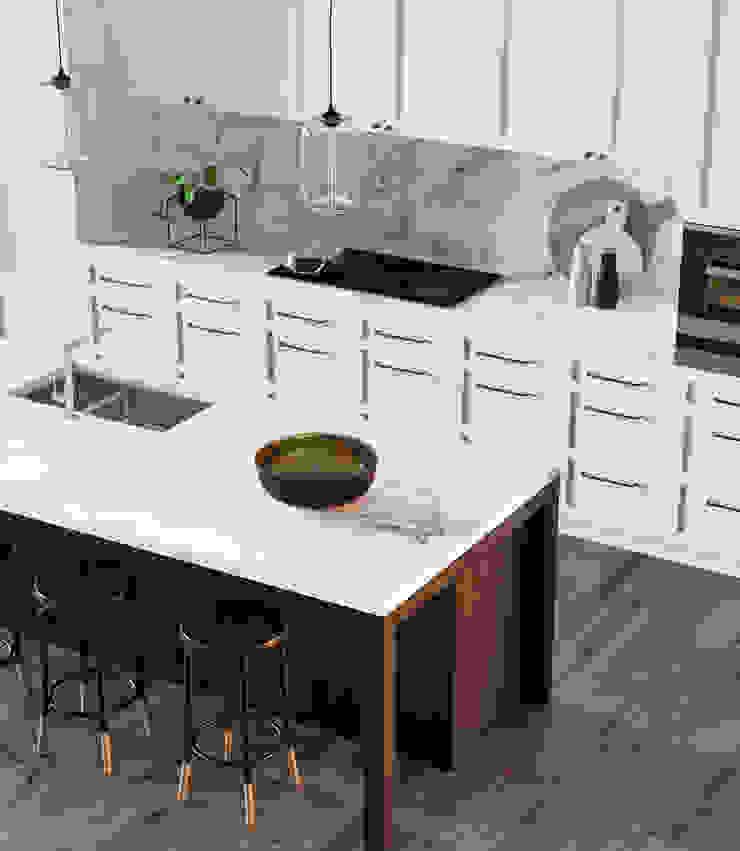 GN İÇ MİMARLIK OFİSİ – Mutfak / Kitchen: modern tarz , Modern Ahşap Ahşap rengi