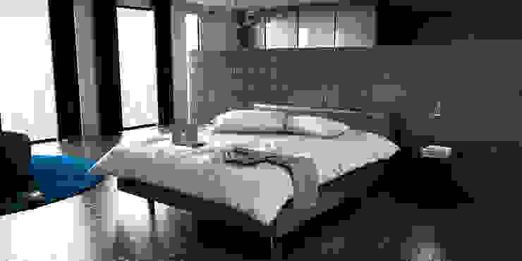 Interior design chic Dormitorios modernos de Studio03 Moderno