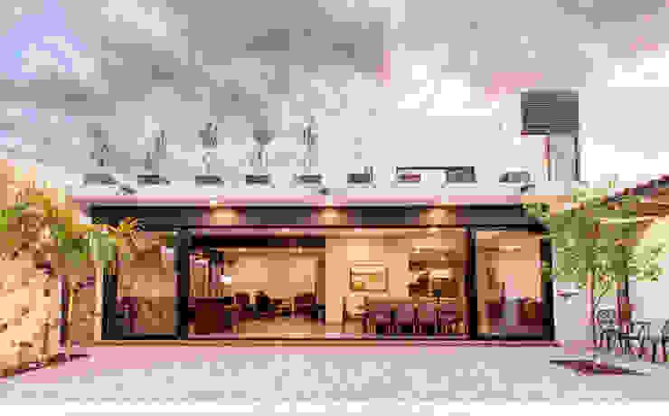 Fachada interior Casas modernas de Loyola Arquitectos Moderno