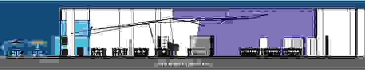 Restaurant Piano Bar de ALBUERNE ARQUITECTOS