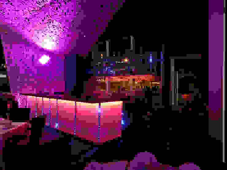 Barra, Bar de servicio de ALBUERNE ARQUITECTOS