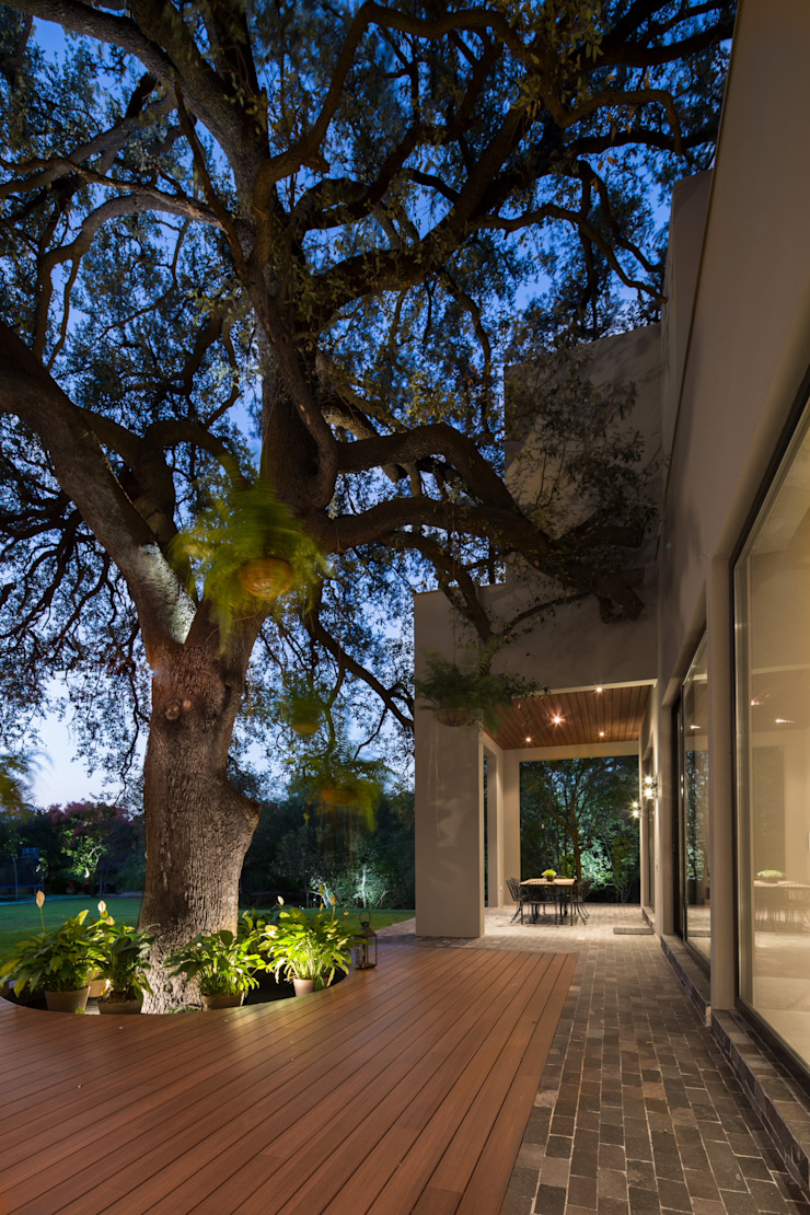 JARDIN Jardines modernos de Rousseau Arquitectos Moderno