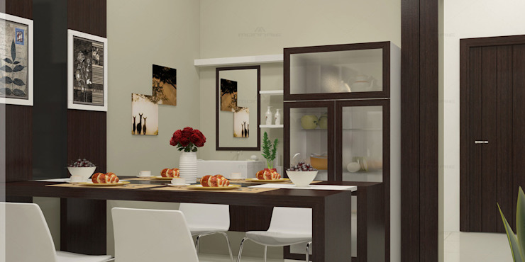 Incredible Designs for You ! Modern dining room by Monnaie Architects & Interiors Modern