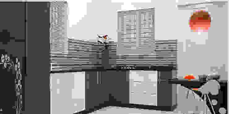 Modern kitchen by Monnaie Architects & Interiors Modern