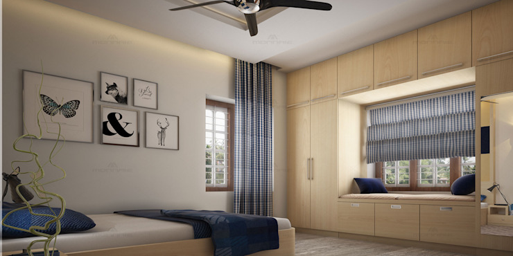 Astounding Classic style bedroom by Monnaie Architects & Interiors Classic