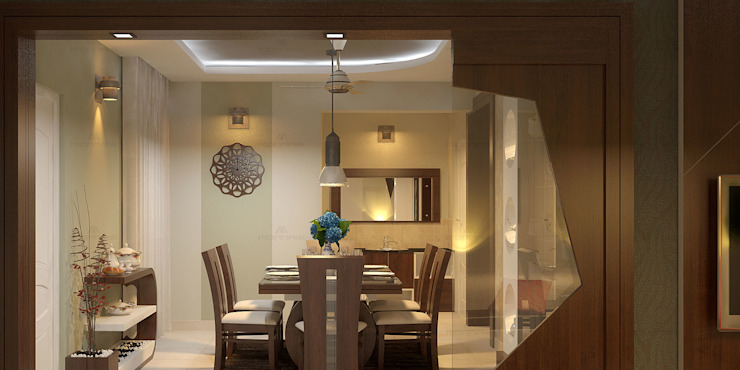 Fantastic Modern dining room by Monnaie Architects & Interiors Modern