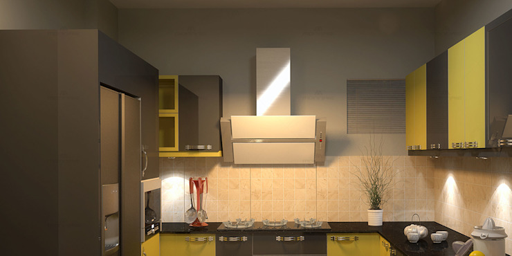 Fantastic Modern kitchen by Monnaie Architects & Interiors Modern