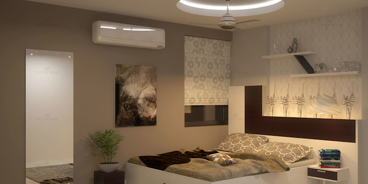 Fantastic Modern style bedroom by Monnaie Architects & Interiors Modern