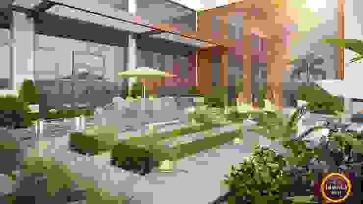 Landscaping ideas of Katrina Antonovich Mediterranean style house by Luxury Antonovich Design Mediterranean