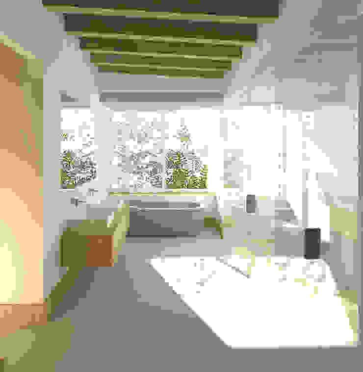 JONKERSHOEK ROAD, STELLENBOSCH Modern bathroom by Gallagher Lourens Architects Modern