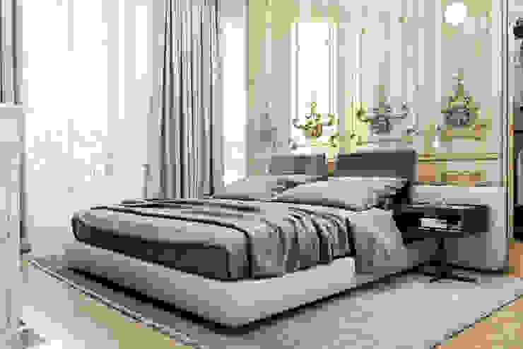 Eclectische slaapkamers van Виталий Юров Eclectisch