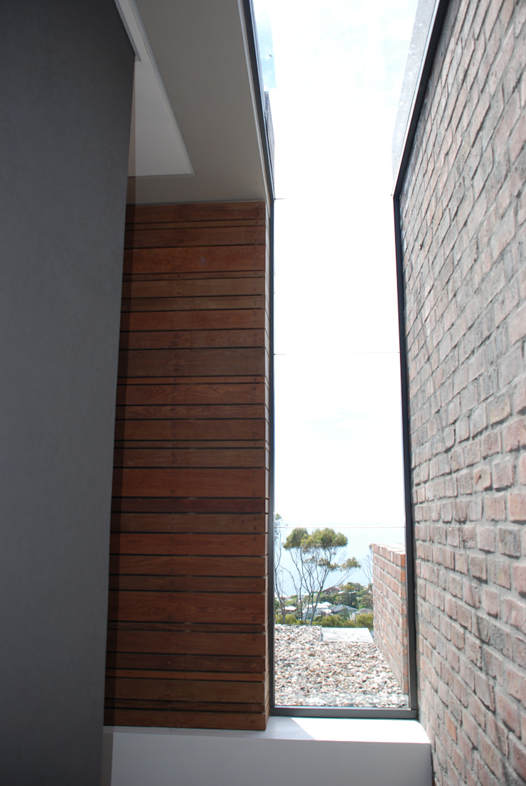 New Private Home in Llandudno Modern Corridor, Hallway and Staircase by Gallagher Lourens Architects Modern