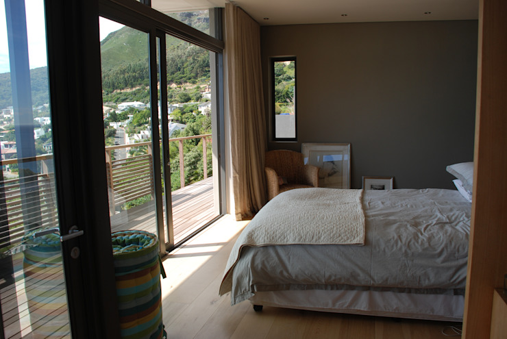 New Private Home in Llandudno Modern style bedroom by Gallagher Lourens Architects Modern