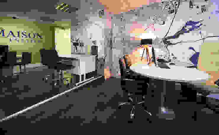 Half Of Main Office Gracious Luxury Interiors Office buildings