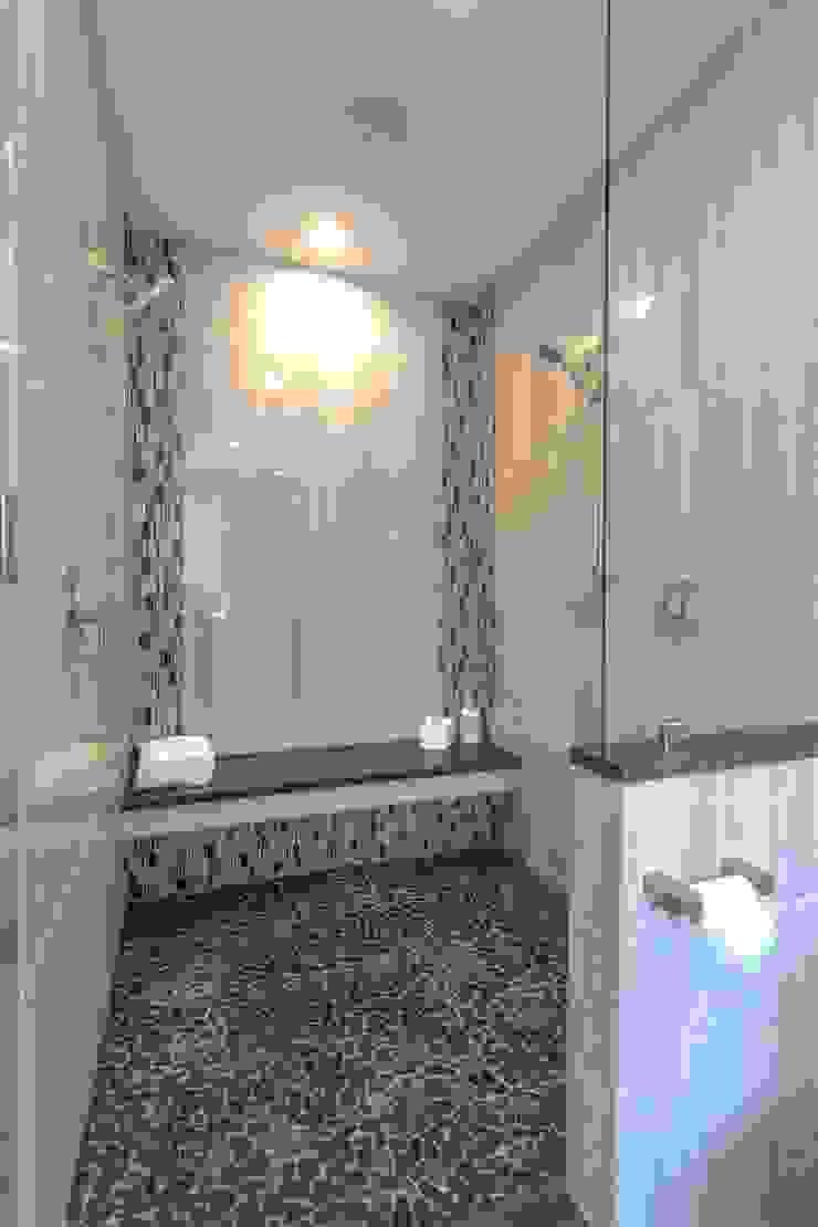 浴室一景, 淋浴及蒸氣桑拿 根據 monaco design 古典風